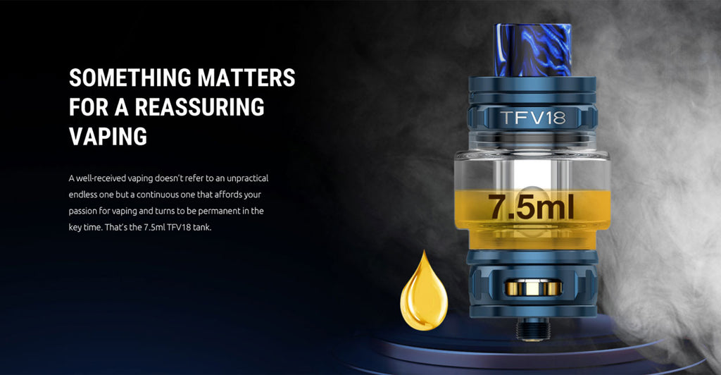 SMOK MORPH 2 230W Mod Kit with TFV18 Tank 7.5 ml | Vapelink Australia