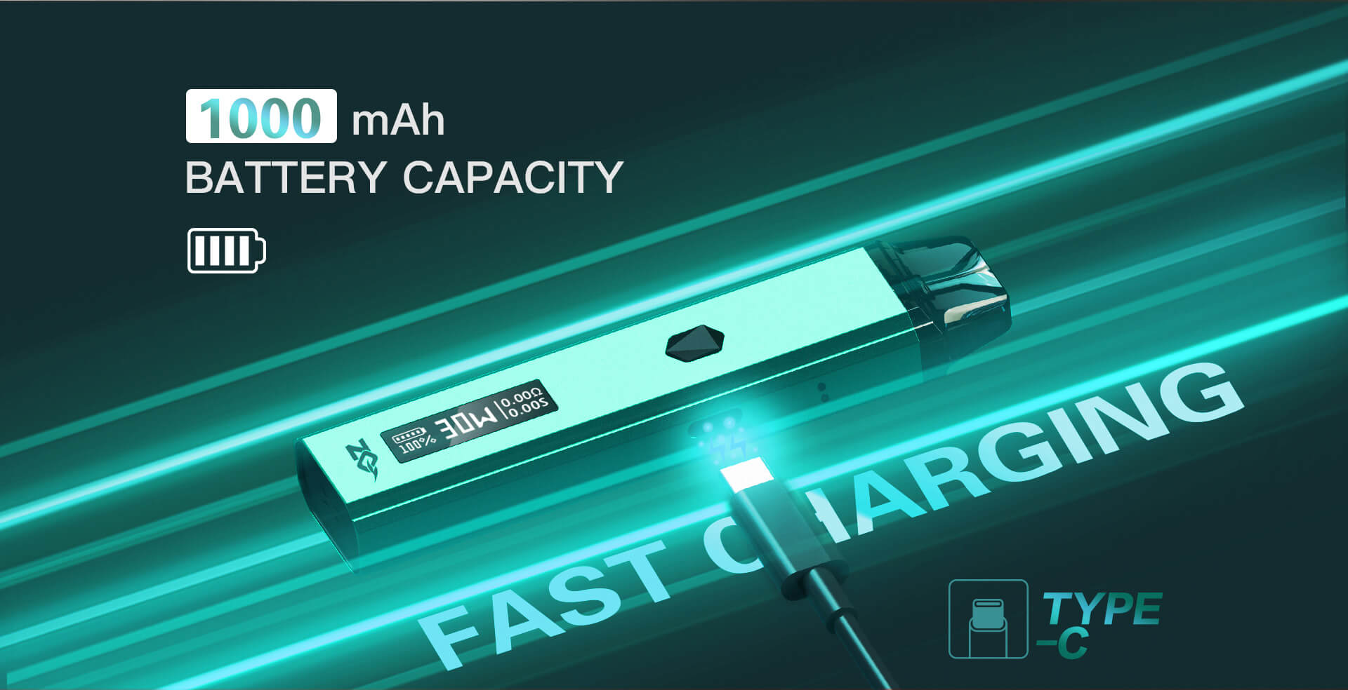 ZQ Xtal Pro Fast Charging - Type C Charger