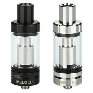 Eleaf Melo 3 Atomizer 4ml Black and SS
