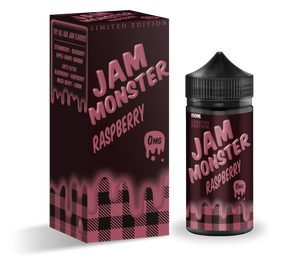Raspberry By Jam Monster Vape Juice 100ml USA