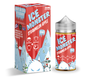 Jam Monster - Ice Jam - Strawmelon Apple Ice 100ml