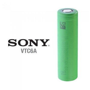 Sony VTC6A 18650 3000mAh 20A Battery Best for Mech Mods
