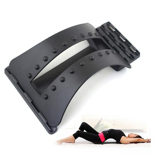 Lumbar Back Stretcher & Massager