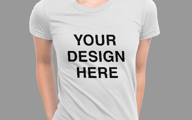 Custom DTG White Unisex T-Shirt