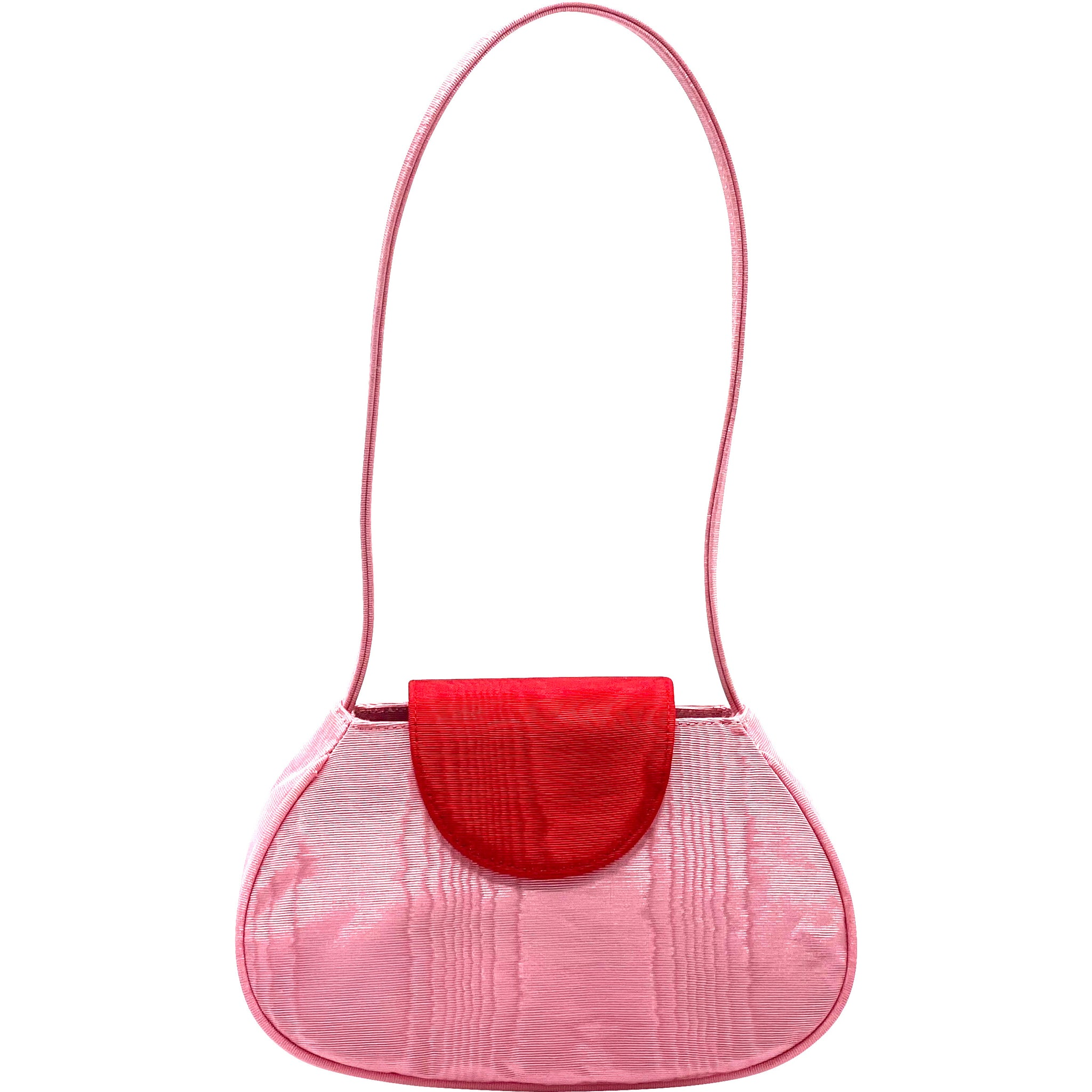For the Ages x Neophyte Ineva Baguette in Red and Pink Moire