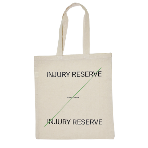 Injury Reserve Tote Bag + Digital Album