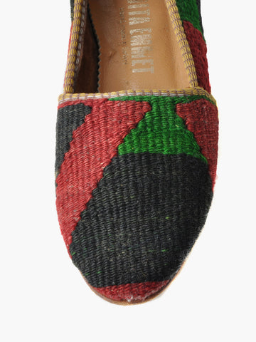 Vintage Southwest Kilim Loafers