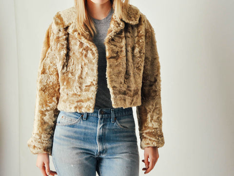 Vintage Short Fur Coat