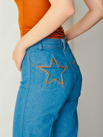 Vintage Brittania Star Jeans