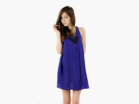 Alexander Wang Purple Dress