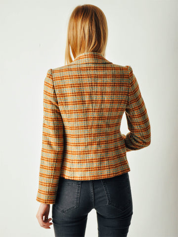 Plaid Betsey Johnson Blazer