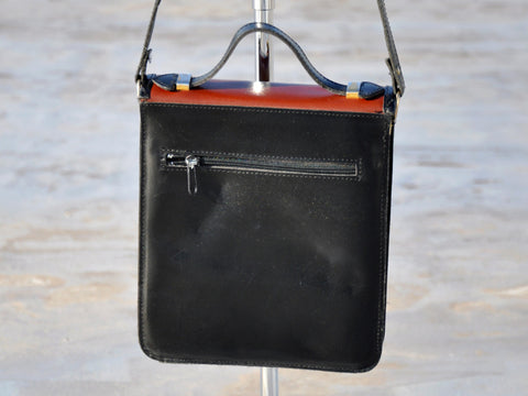 Vintage Two Tone Black Purse