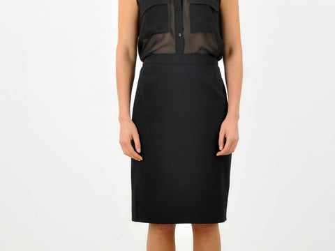 Givenchy Paris Pencil Skirt