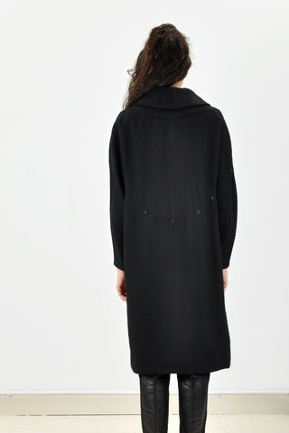 Vintage B. ALTMAN Black Arrows Coat