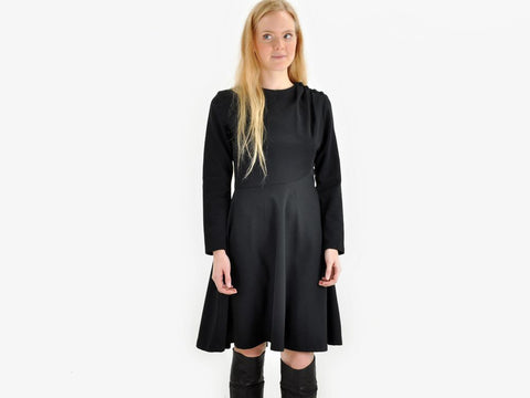 Vintage Black LADY CAROL Dress