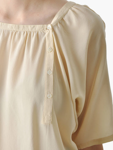 Vintage Cacharel Ivory Silk Blouse
