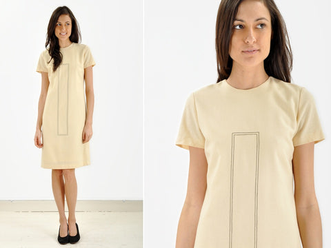 Vintage Mod Rectangle Dress
