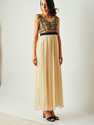 Vintage 1970s Sabina of India Gown
