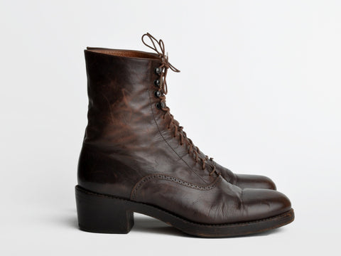 Henry Beguelin Lace-Up Boots