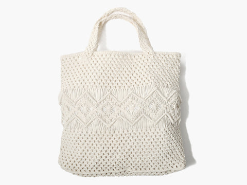 Vintage 1970s Crochet Day Bag