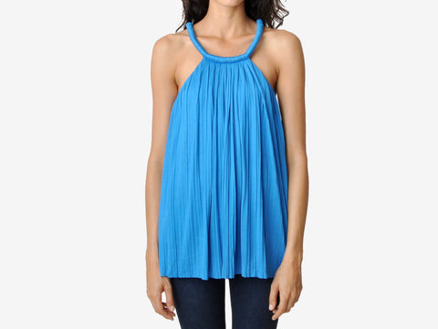 Joseph Grecian Pleated Top