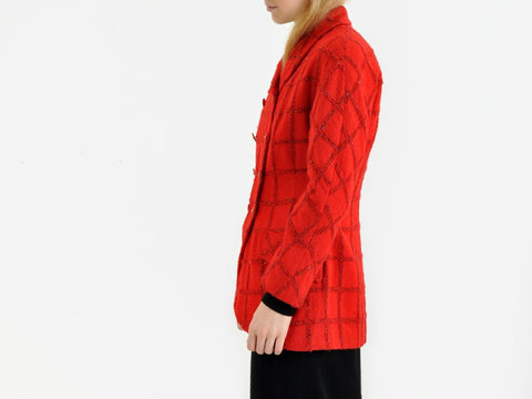 Vintage Karl Lagerfeld Red Jacket