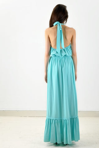 Turquoise Long Maxi Dress