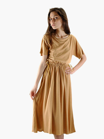 Vintage Jeff Kint Camel Dress