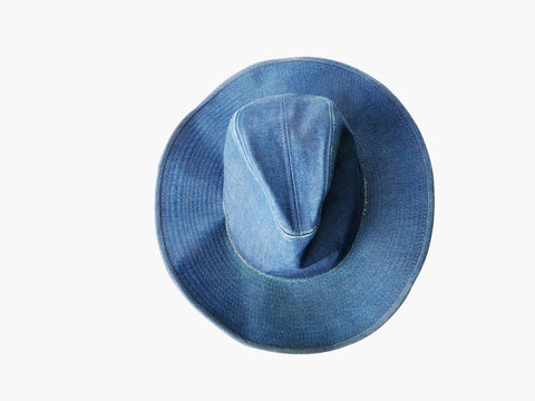 Vintage Denim Stetson Hat