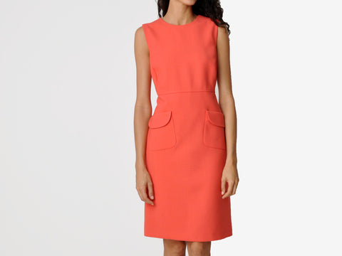 Tory Burch Coral Shift Dress