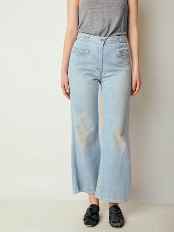 Vintage 70s Light Denim Jeans (30x28)