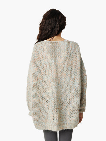 Vintage Chunky Knit Oversized Sweater