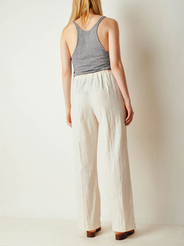 Vintage Cotton Gauze Pants