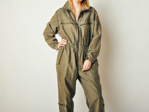 Vintage German Military Jumpsuit