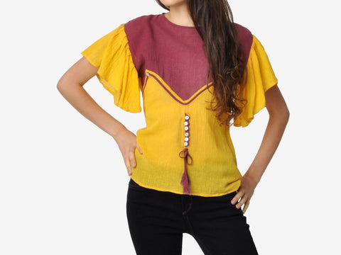Vintage Indian Festival Blouse