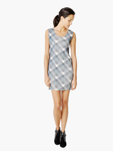 Issey Miyake Pleats Please Plaid Dress