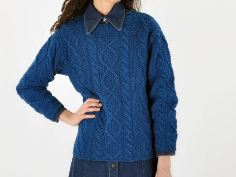Vintage J. Crew Cable Knit Sweater