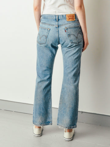 Vintage 517 Levis Light Denim Jeans (31x30)
