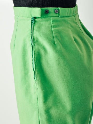 Vintage 50s Lime Green Shorts