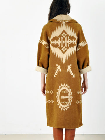 Vintage Long Navajo coat