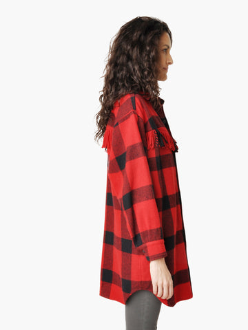 Vintage Ralph Lauren Plaid Flannel Tunic