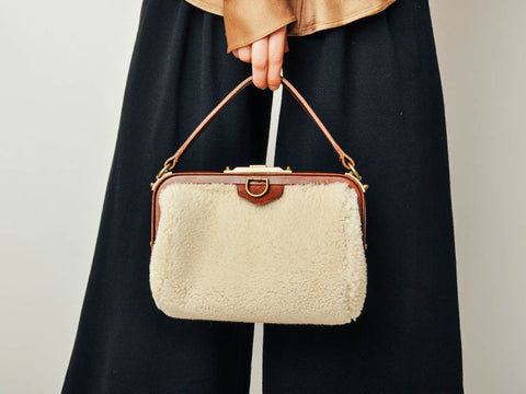 Ralph Lauren Shearling Purse
