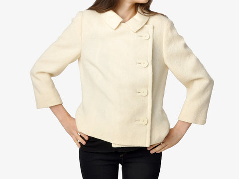 Vintage Sybil Connolly Ivory Jacket