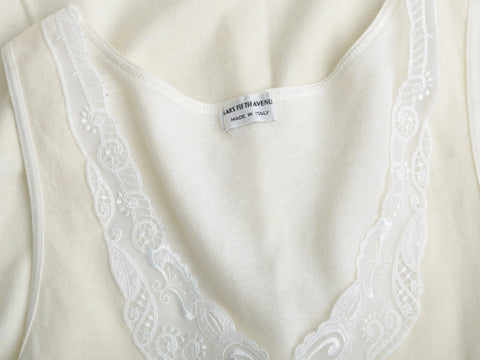 Vintage SAKS FIFTH AVENUE Lace Top