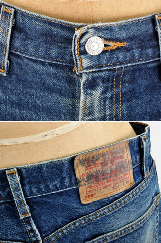 Levi's 505 Distressed Jeans