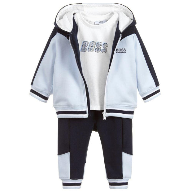 (HUGO BOSS) Baby 3 Piece Tracksuit Set - My Billionaire Baby