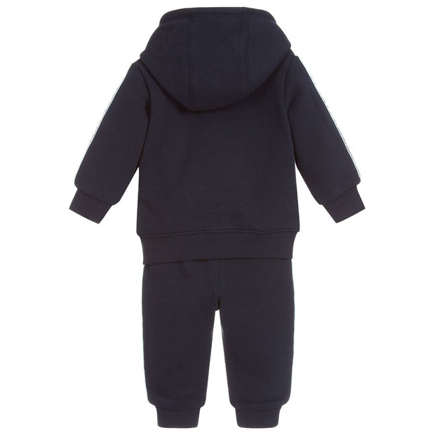 (HUGO BOSS) Boys Blue Jersey Tracksuit - My Billionaire Baby