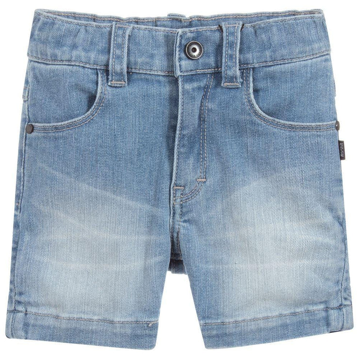 (HUGO BOSS) Boys Blue Denim Shorts - My Billionaire Baby