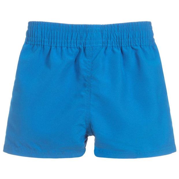 (HUGO BOSS) Boys Blue Logo Swim Shorts - My Billionaire Baby