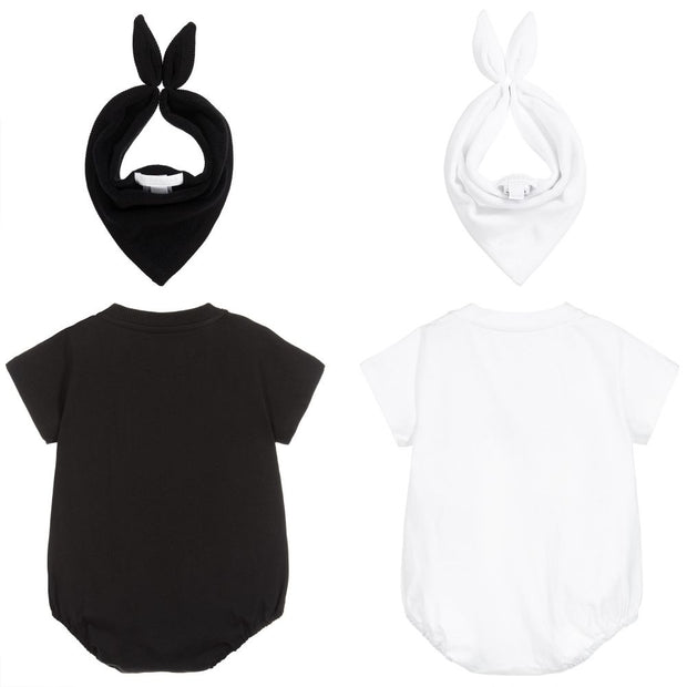 (Burberry) Bodyvest & Bib Set (2 Pack) - My Billionaire Baby